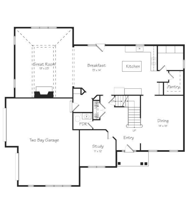 Atland First Floor Plan