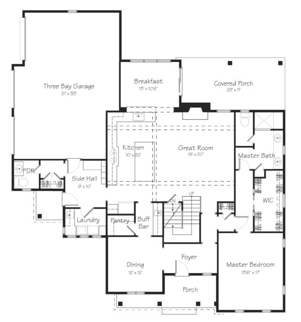 Beaumont First Floor Plan