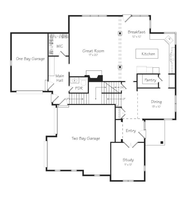 Creston First Floor Plan