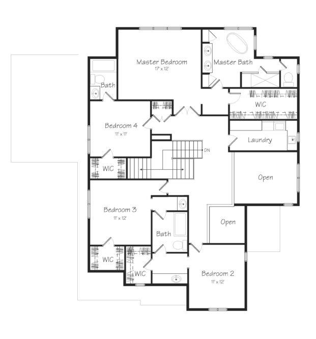 Creston Second Floor Plan