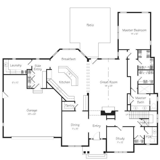 Devonshire First Floor Plan