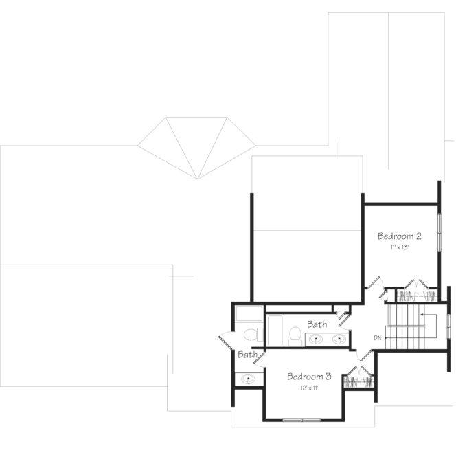 Devonshire Second Floor Plan