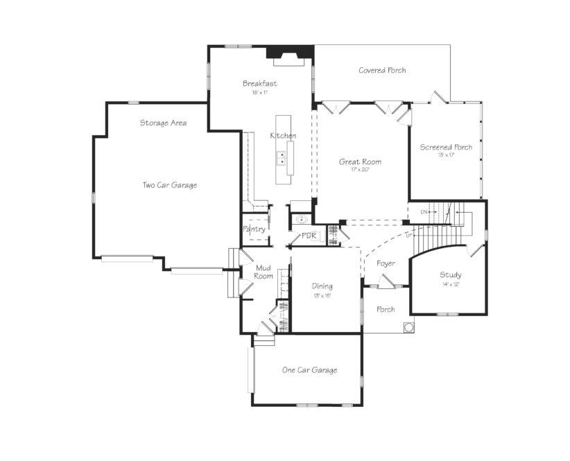 Elliot First Floor Plan