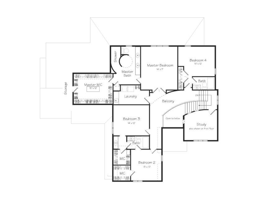 Elliot Second Floor Plan