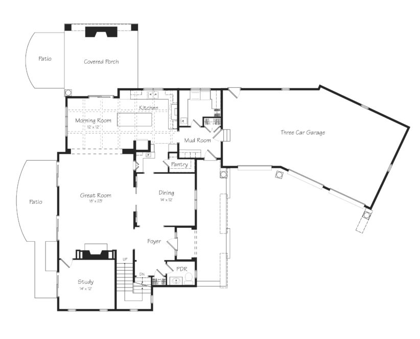 Findley First Floor Plan