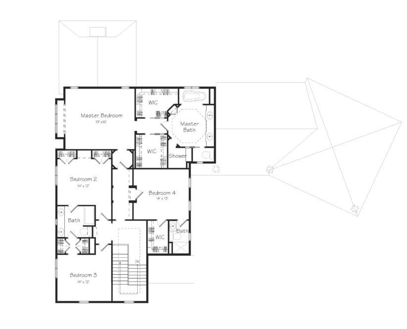 Findley Second Floor Plan