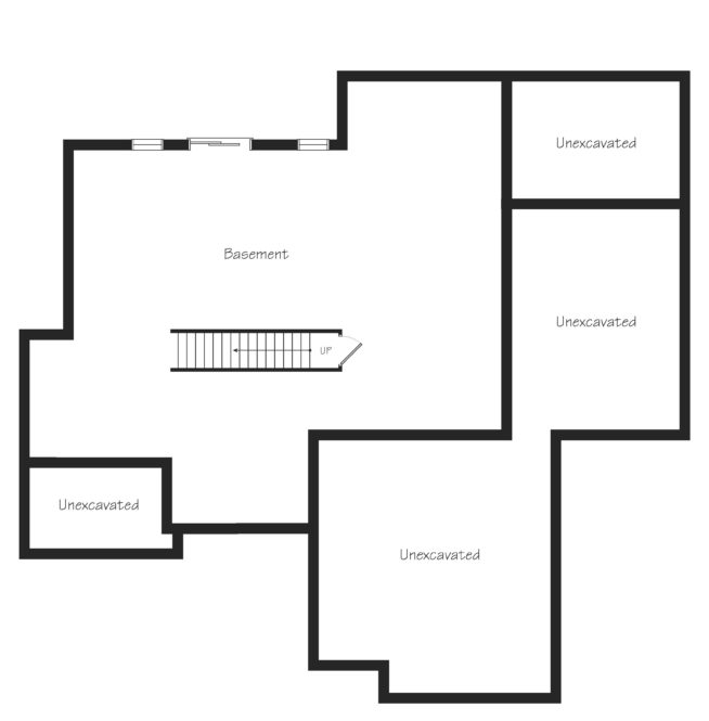 Glendale Third Floor Plan