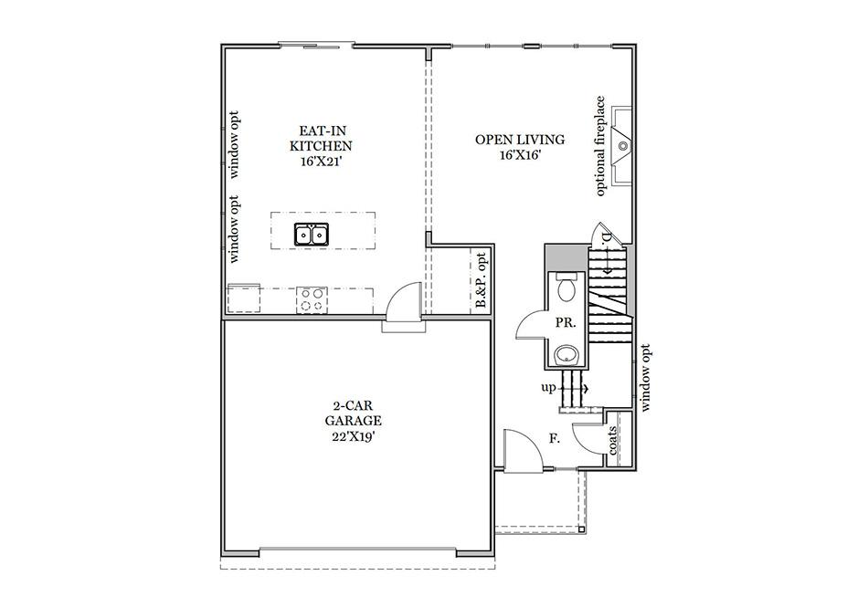 Ardmore First Floor Plan