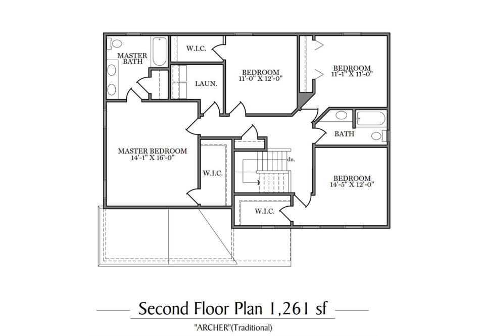 Archer Second Floor Plan