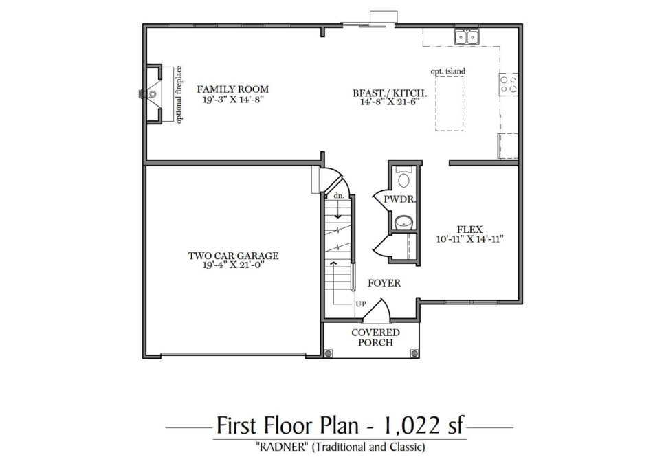 Radner First Floor Plan