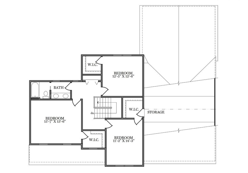 Warren Second Floor Plan