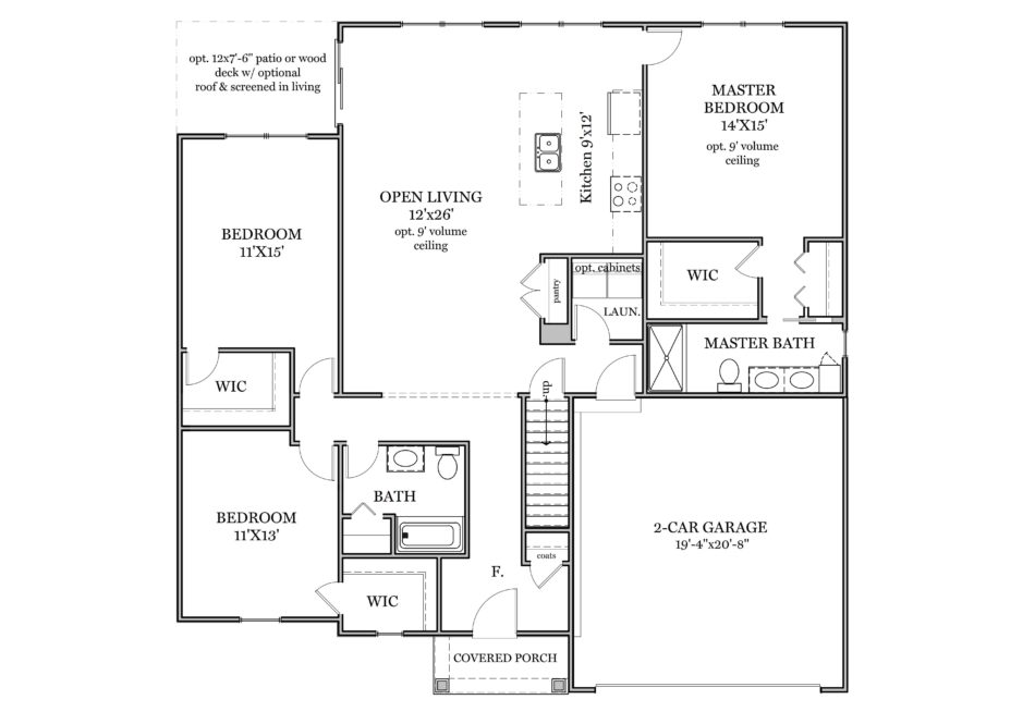 Clearwater First Floor Plan