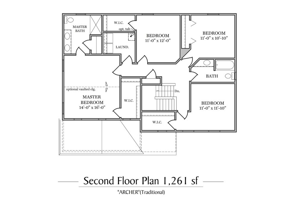 Archer Second Floor Plan