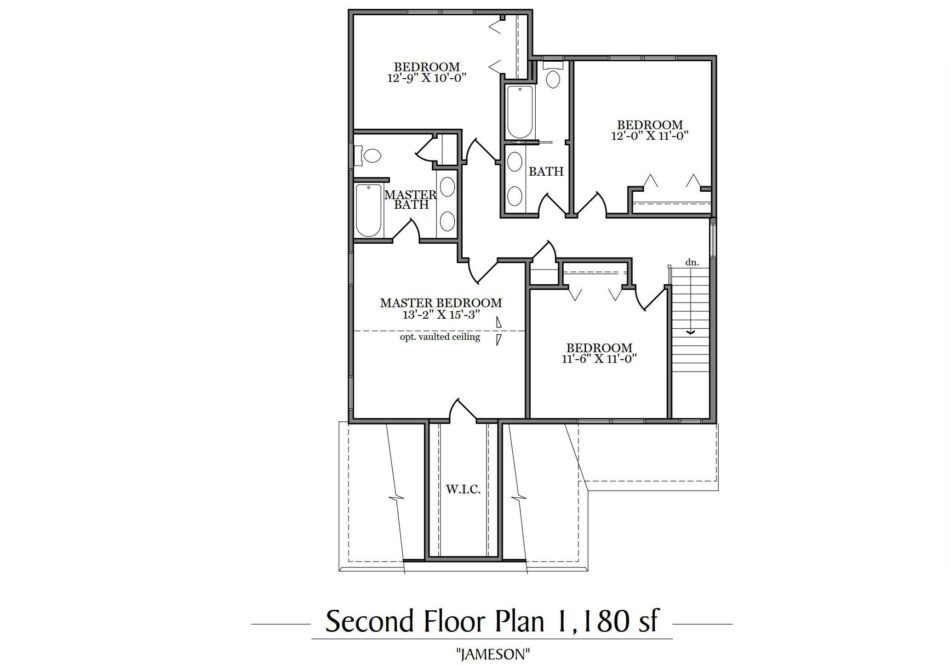 Jameson Second Floor Plan