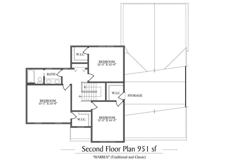 Warren Second Floor Plan