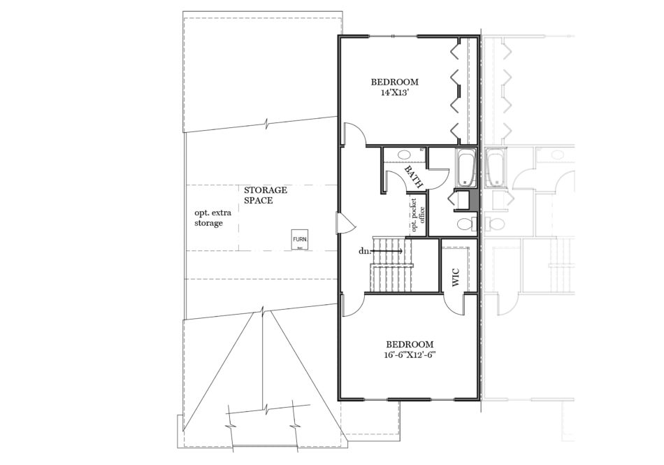 Charlotte Second Floor Plan