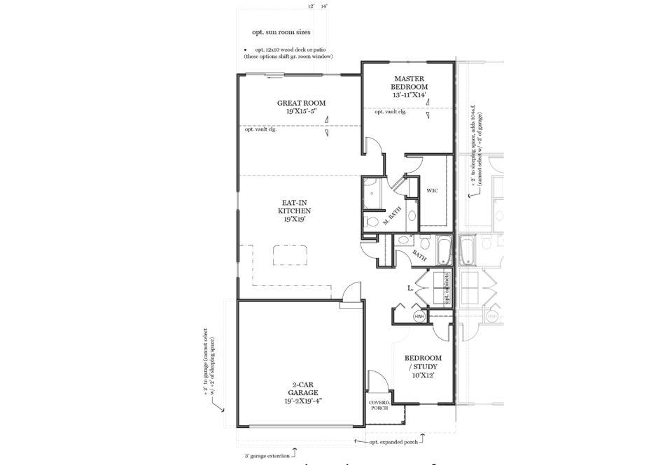 Rosevale First Floor Plan