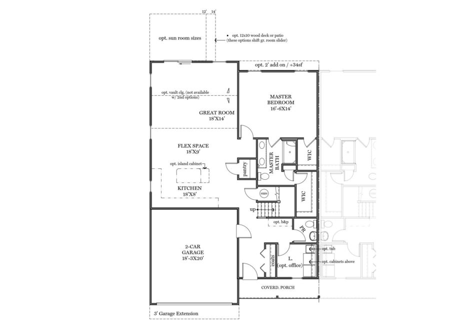 Charlotte First Floor Plan