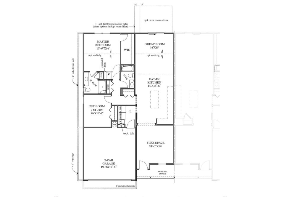 Ferris First Floor Plan