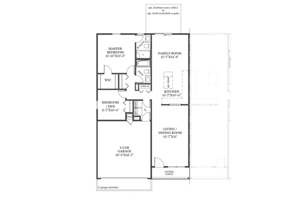 Franklin First Floor Plan