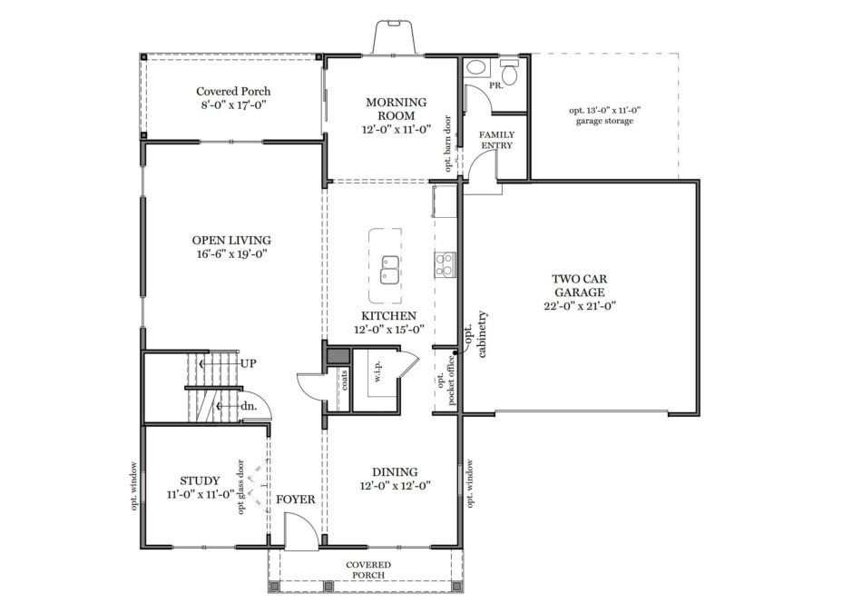 Glen Mary First Floor Plan