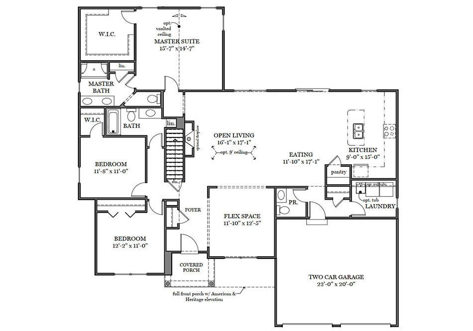 Stapleton First Floor Plan