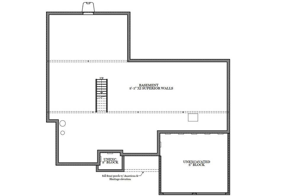 Stapleton Third Floor Plan